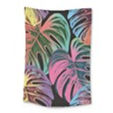 Leaves Tropical Jungle Pattern Small Tapestry View1