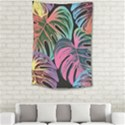 Leaves Tropical Jungle Pattern Small Tapestry View2