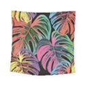 Leaves Tropical Jungle Pattern Square Tapestry (Small) View1