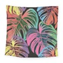 Leaves Tropical Jungle Pattern Square Tapestry (Large) View1
