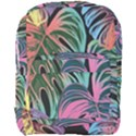 Leaves Tropical Jungle Pattern Full Print Backpack View1