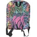 Leaves Tropical Jungle Pattern Full Print Backpack View2