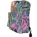 Leaves Tropical Jungle Pattern Full Print Backpack View3