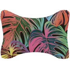Leaves Tropical Jungle Pattern Seat Head Rest Cushion