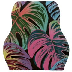 Leaves Tropical Jungle Pattern Car Seat Velour Cushion