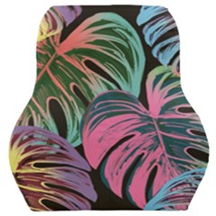 Leaves Tropical Jungle Pattern Car Seat Back Cushion  by Nexatart