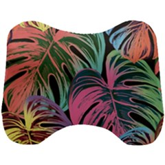 Leaves Tropical Jungle Pattern Head Support Cushion