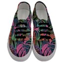 Leaves Tropical Jungle Pattern Men s Classic Low Top Sneakers View1