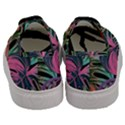 Leaves Tropical Jungle Pattern Men s Classic Low Top Sneakers View4