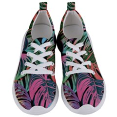 Leaves Tropical Jungle Pattern Women s Lightweight Sports Shoes