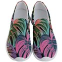 Leaves Tropical Jungle Pattern Men s Lightweight Slip Ons View1