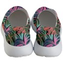 Leaves Tropical Jungle Pattern Men s Lightweight Slip Ons View4