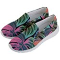 Leaves Tropical Jungle Pattern Women s Lightweight Slip Ons View2