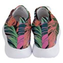 Leaves Tropical Jungle Pattern Women s Lightweight High Top Sneakers View4