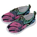 Leaves Tropical Jungle Pattern Velcro Strap Shoes View2