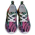 Leaves Tropical Jungle Pattern Running Shoes View1