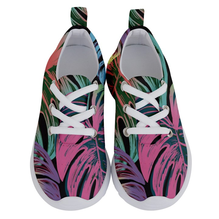 Leaves Tropical Jungle Pattern Running Shoes