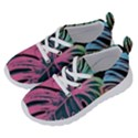 Leaves Tropical Jungle Pattern Running Shoes View2