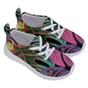 Leaves Tropical Jungle Pattern Running Shoes View3