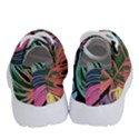 Leaves Tropical Jungle Pattern Running Shoes View4