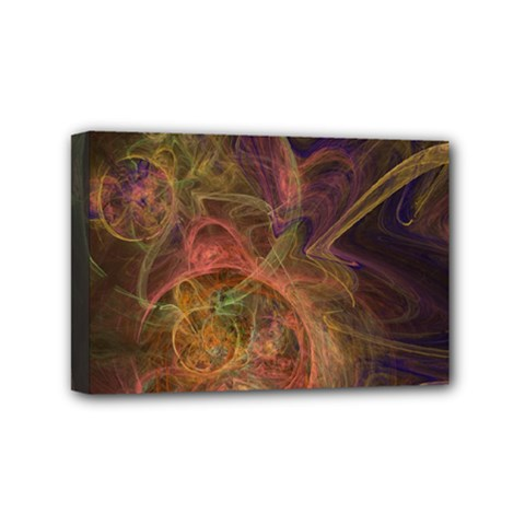 Abstract Colorful Art Design Mini Canvas 6  X 4  (stretched)