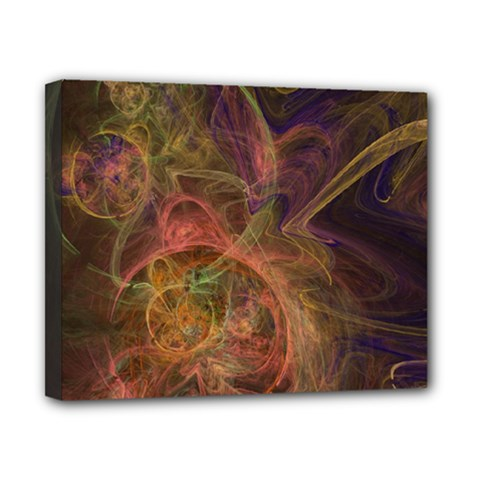 Abstract Colorful Art Design Canvas 10  X 8  (stretched)