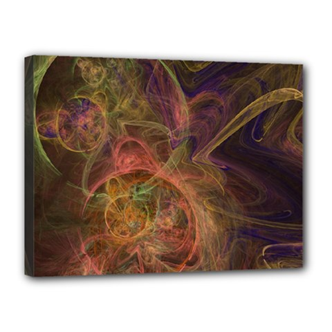 Abstract Colorful Art Design Canvas 16  X 12  (stretched)