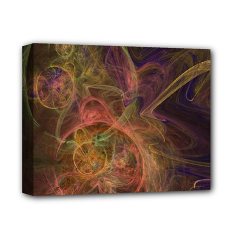 Abstract Colorful Art Design Deluxe Canvas 14  X 11  (stretched)