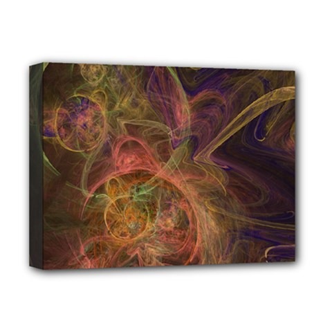 Abstract Colorful Art Design Deluxe Canvas 16  X 12  (stretched)