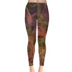 Abstract Colorful Art Design Leggings