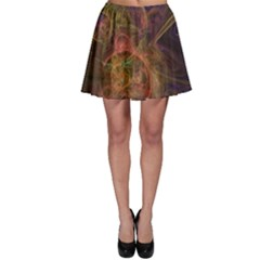 Abstract Colorful Art Design Skater Skirt
