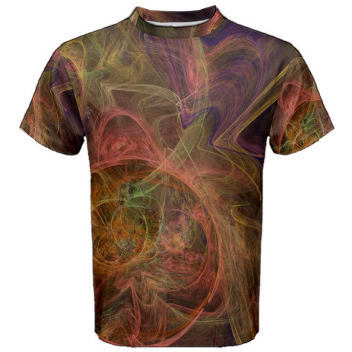 Abstract Colorful Art Design Men s Cotton Tee