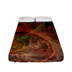 Abstract Colorful Art Design Fitted Sheet (full/ Double Size)