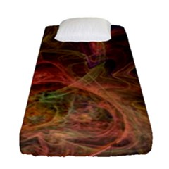Abstract Colorful Art Design Fitted Sheet (single Size)