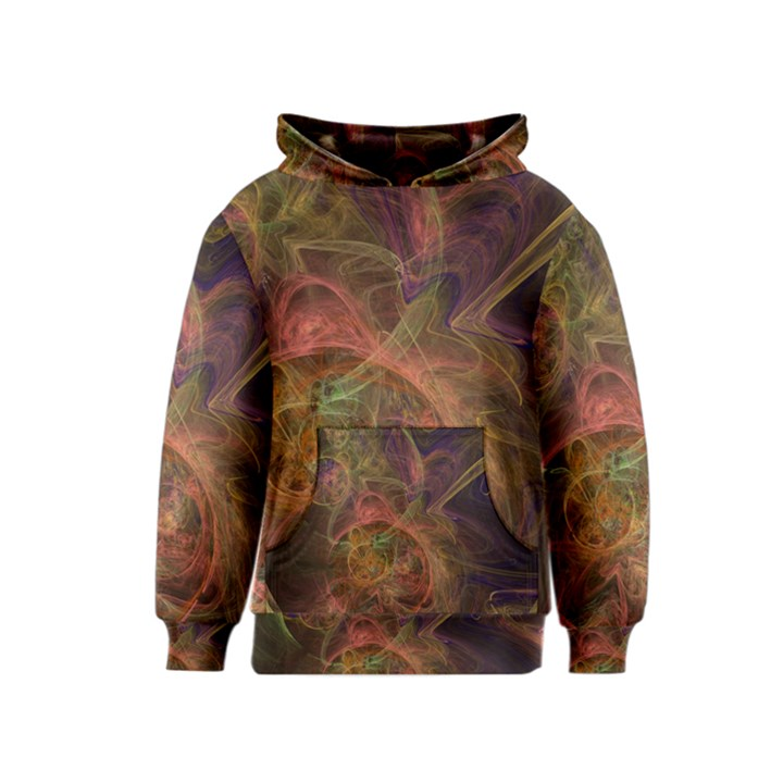 Abstract Colorful Art Design Kids  Pullover Hoodie