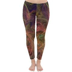 Abstract Colorful Art Design Classic Winter Leggings