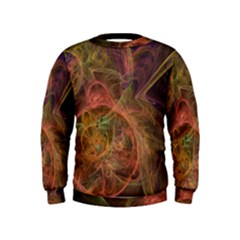 Abstract Colorful Art Design Kids  Sweatshirt