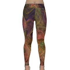 Abstract Colorful Art Design Classic Yoga Leggings