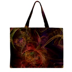 Abstract Colorful Art Design Zipper Mini Tote Bag