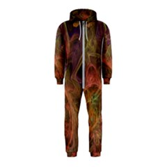 Abstract Colorful Art Design Hooded Jumpsuit (kids)