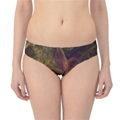 Abstract Colorful Art Design Hipster Bikini Bottoms