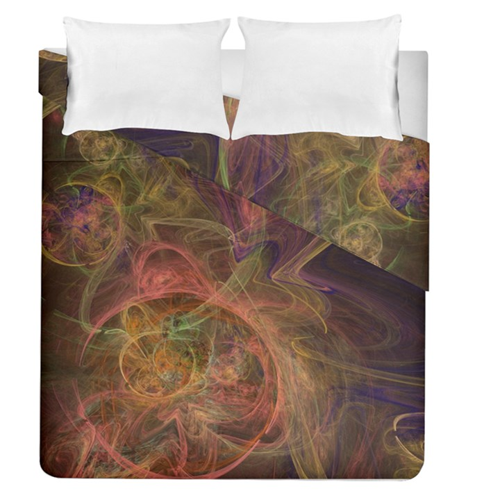 Abstract Colorful Art Design Duvet Cover Double Side (Queen Size)