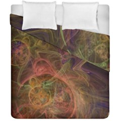 Abstract Colorful Art Design Duvet Cover Double Side (california King Size)