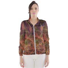 Abstract Colorful Art Design Windbreaker (women)