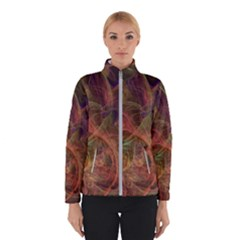 Abstract Colorful Art Design Winter Jacket