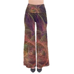 Abstract Colorful Art Design So Vintage Palazzo Pants