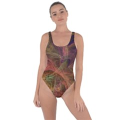 Abstract Colorful Art Design Bring Sexy Back Swimsuit