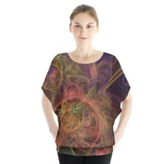Abstract Colorful Art Design Blouse