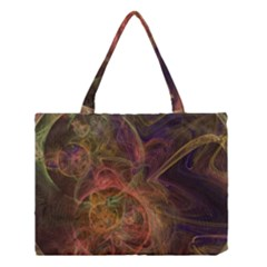Abstract Colorful Art Design Medium Tote Bag