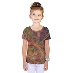 Abstract Colorful Art Design Kids  One Piece Tee